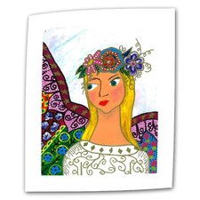 "<strong>Art Wall</strong> Debra Purcell ""Angel Ellen"" Canvas Wall Art"