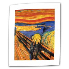 "Edward Munch ""The Scream"" Canvas Wall Art"