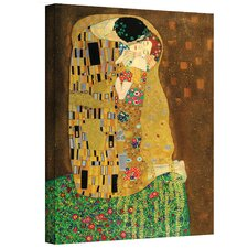 ''The Kiss'' by Gustav Klimt Painting Print on Canvas