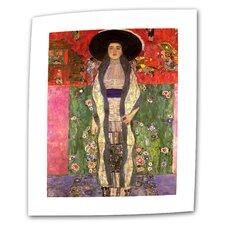 """Adele Bloch Bauer"" by Gustav Klimt Painting Print on Canvas"