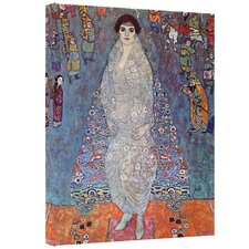 Gustav Klimt ''Eugenia Primavesi 2'' Canvas Art