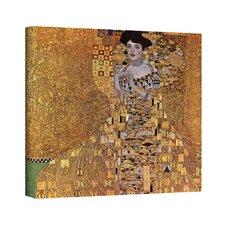 ''Portrait of Bloch Bauer'' by Gustav Canvas Klimt Painting Print