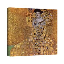 <strong>Art Wall</strong> Gustav Klimt ''Portrait of Bloch Bauer'' Canvas Art