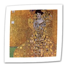 """Portrait of Bloch Bauer"" by Gustav Klimt Painting Print on Canvas"