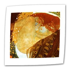 """Danae"" by Gustav Klimt Original Painting on Canvas"