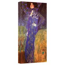 ''Emilie Floege'' by Gustav Klimt Painting Print on Canvas