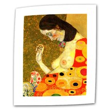 """Hope, II"" by Gustav Klimt Painting Print on Canvas"
