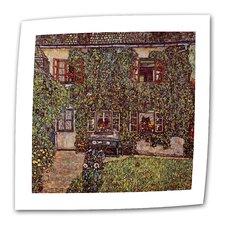 """House of Guardaboschi"" by Gustav Klimt Painting Print on Canvas"
