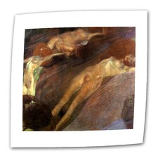 """Moving Water"" by Gustav Klimt Painting Print on Canvas"