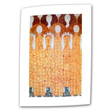 """Angel Brides"" by Gustav Klimt Painting Print on Canvas"