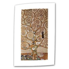 """Tree of Life"" by Gustav Klimt Original Painting on Canvas"