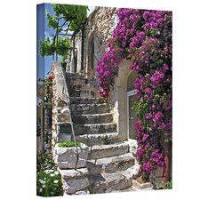 ''St. Paul de Vence France'' by George Zucconi Photographic Print on Canvas