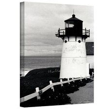 Kathy Yates ''Montara Lighthouse'' Canvas Art