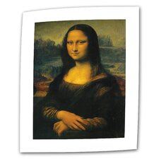 """Mona Lisa"" by Leonardo Da Vinci Original Painting on Canvas"
