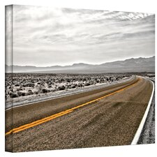 ''Slow Curves'' by Mark Ross Photographic Print on Canvas