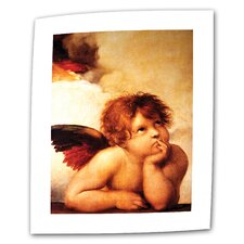 "'Cherub"" by Raphael Painting Print on Canvas"