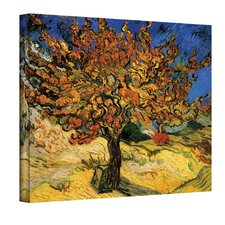 ''Mulberry Tree'' by Vincent Van Gogh Painting Print on Canvas