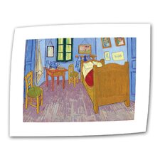 """The Bedroom"" by Vincent van Gogh Painting Print on Canvas"