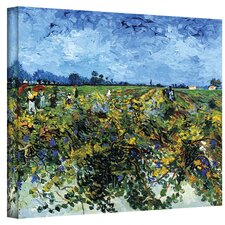 ''Green Vineyard'' by Vincent Van Gogh Painting Print on Canvas