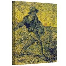 Vincent Van Gogh ''The Sower'' Canvas Art