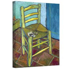 ''Vincent's Chair'' by Vincent Van Gogh Painting Print on Canvas
