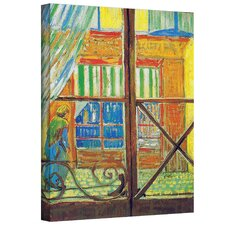 ''Pork-Butcher's Shop Through the Window'' by Vincent Van Gogh Painting Print on Canvas