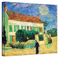 ''The White House at Night'' by Vincent Van Gogh Original Painting on Canvas