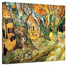 ''The Road Menders'' by Vincent Van Gogh Original Painting on Canvas