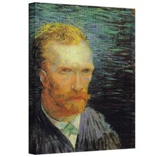 ''Self Portrait'' by Vincent Van Gogh Original Painting on Canvas