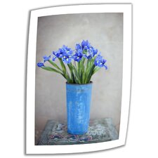Elena Ray 'Iris Flowers' Unwrapped Canvas Wall Art