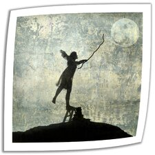 Elena Ray 'Reach for the Moon' Unwrapped Canvas Wall Art