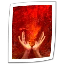 Elena Ray 'Chakra Fire' Unwrapped Canvas Wall Art
