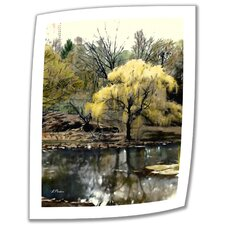 <strong>Art Wall</strong> Linda Parker 'Spring, Central Park' Unwrapped Canvas Wall Art