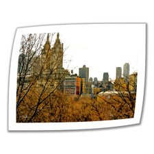<strong>Art Wall</strong> Linda Parker 'Urban Autumn, NYC' Unwrapped Canvas Wall Art