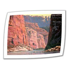 'Colorado River Walls' by Rick Kerste Painting Print on Canvas