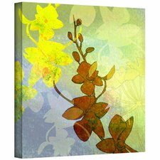 'Orchid Shadow' by Jan Weiss Graphic Art Canvas