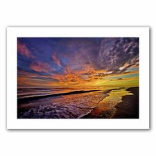 David Liam Kyle 'The Sunset' Unwrapped Canvas Wall Art