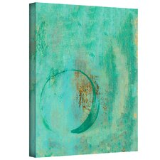 Elena Ray 'Teal Enso' Gallery-Wrapped Canvas Wall Art