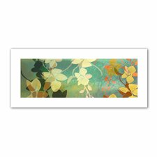 'Shadow Florals' by Jan Weiss Graphic Art Canvas