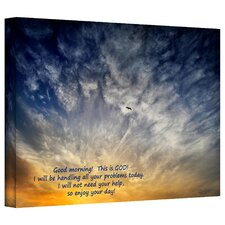 <strong>Art Wall</strong> David Liam Kyle 'God' Unwrapped Canvas Wall Art