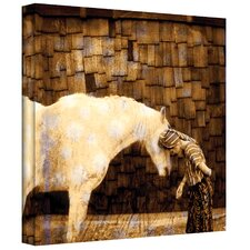 'Horse Whisperer' by Elena Ray Painting Print on Canvas