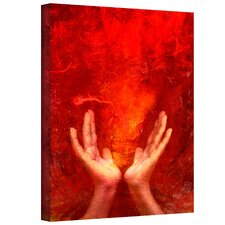 Elena Ray 'Chakra Fire' Gallery-Wrapped Canvas Wall Art