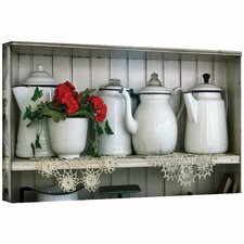 <strong>Art Wall</strong> David Liam Kyle 'Flower With Pots' Gallery-Wrapped Canvas Wall Art