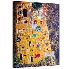 Susi Franco 'My Klimt Kiss' Gallery-Wrapped Canvas Wall Art