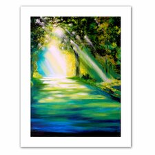 Susi Franco 'Misty Morning' Unwrapped Canvas Wall Art