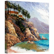 'Cabo San Lucas Coast' by Rick Kerste Painting Print on Canvas
