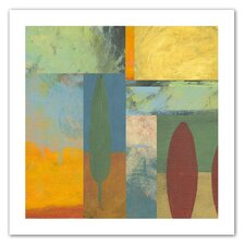 Jan Weiss 'Tuscany Square II' Unwrapped Canvas Wall Art