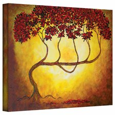 'Ethereal Tree I' by Herb Dickinson Painting Print on Canvas