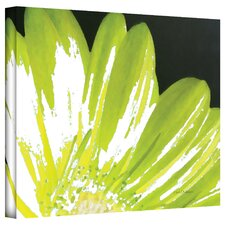 Herb Dickinson 'Gerber Time III' Unwrapped Canvas Wall Art