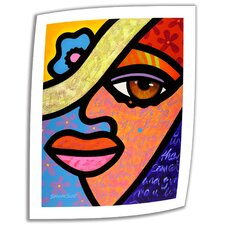 'Sweet City Woman' by Steven Scott Paintign Print on Canvas